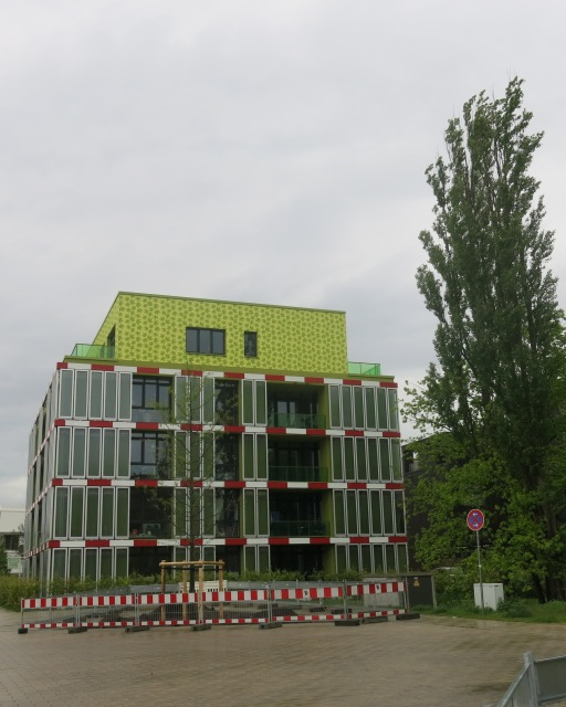 The BIQ algae house in Wilhelmsburg, Hamburg